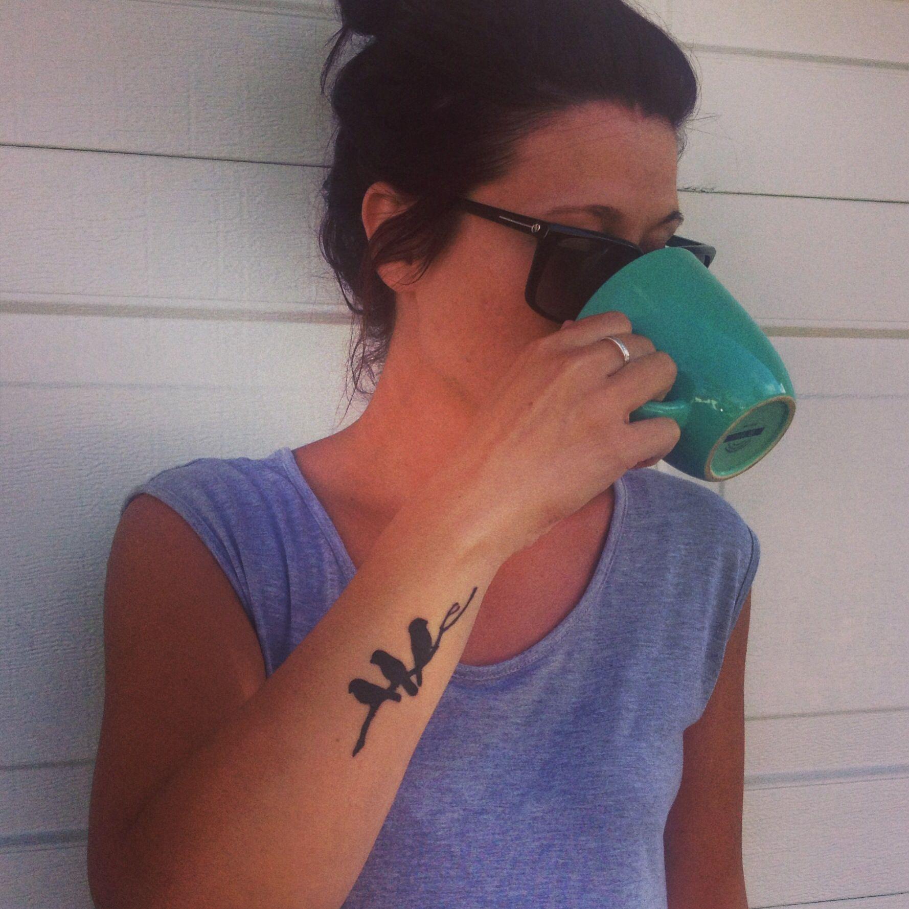 Bird Tattoo For Me And My Baby Birds Xoxo