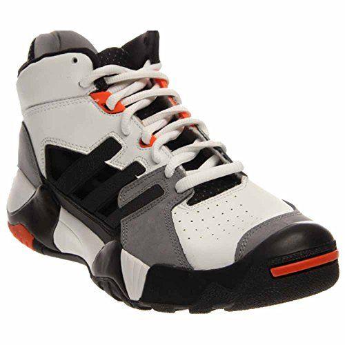 fe111fdfb8e1 Adidas Originals Street Ball Ii Basketball Shoes White Size 8.5 ...