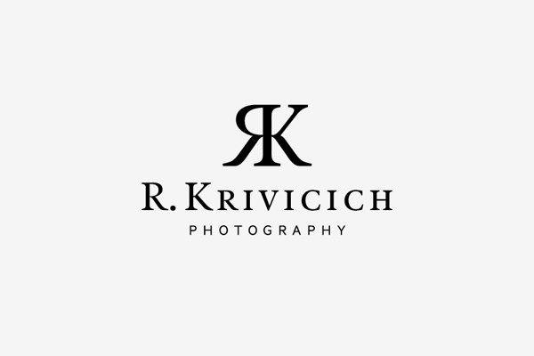 R. Krivicich Photography #monogram #logo #1color #black – Bel monogramma, il gioco della R specchiata funziona sempre.