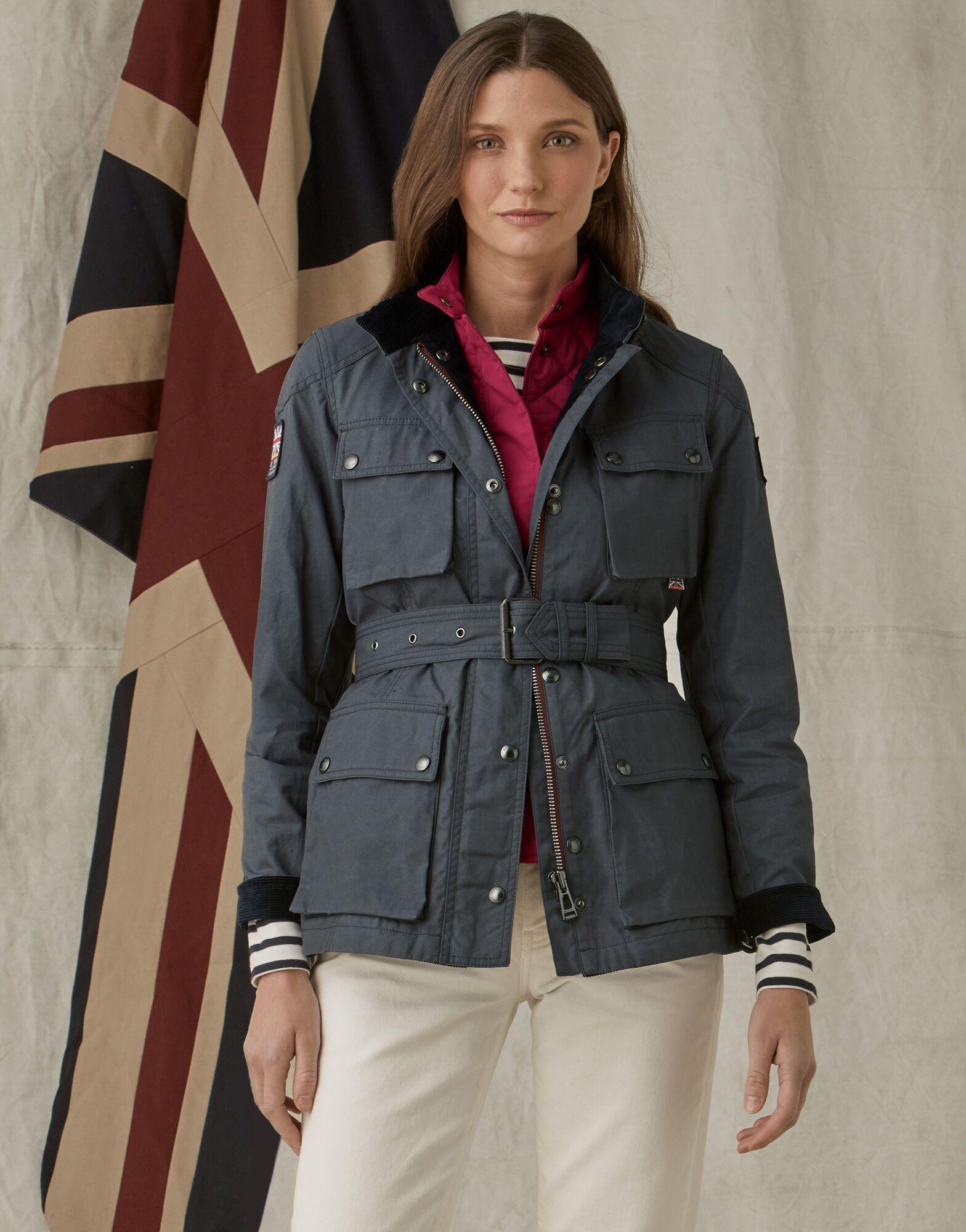 Britannia Trialmaster Jacket Jackets Belstaff Coat [ 2000 x 1568 Pixel ]