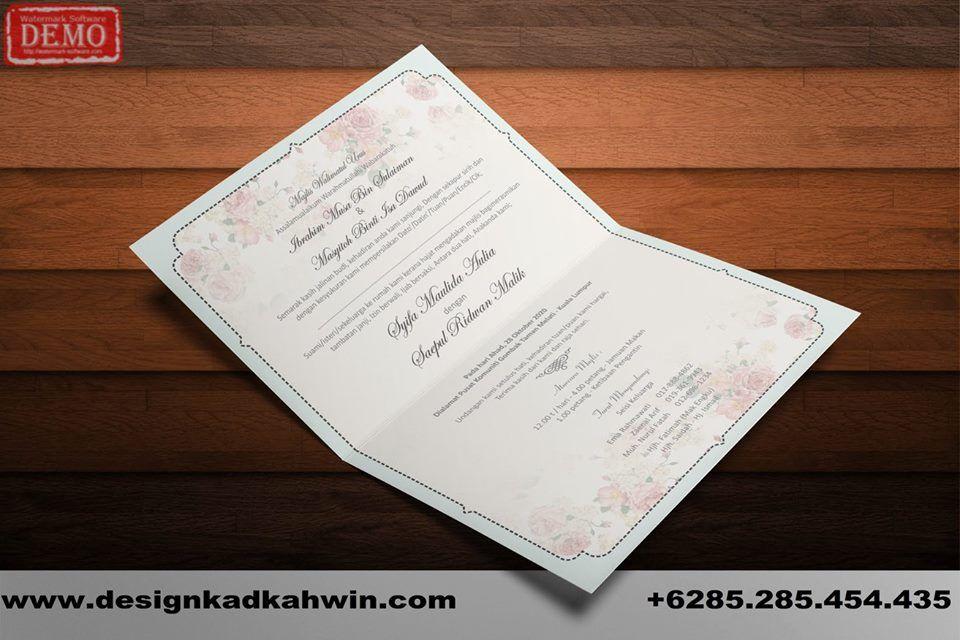 Design Kad Kahwin 014 Design Kad Kahwin Kad Kahwin Design Book Cover