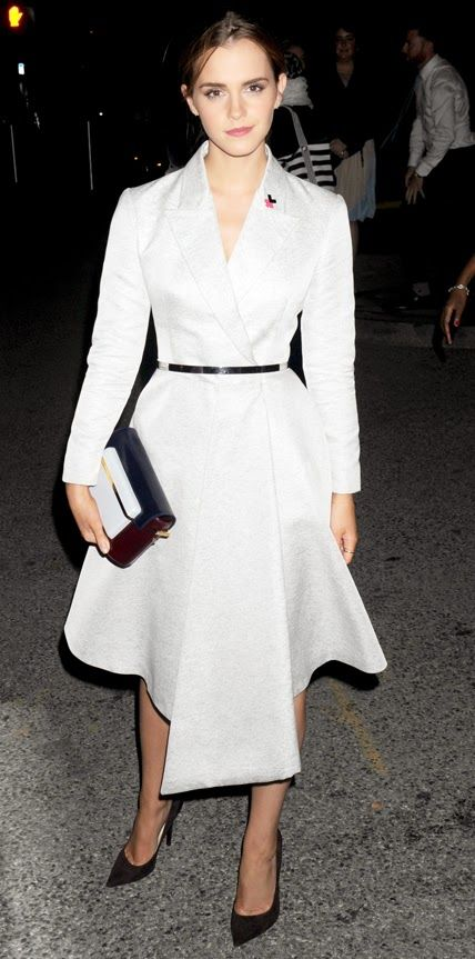 Actress Emma Watson Is As Chic Ever In Dior Fashion