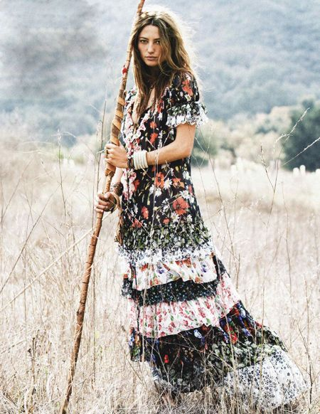 The Bride Wore…A Hippie Dress? | Boho, Hippie dresses and Bohemian