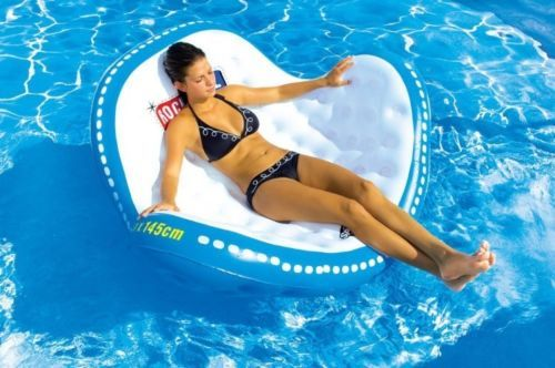 Fun Lounge Chairs floating lounge chair pool water recliner sofa beach fun comfort