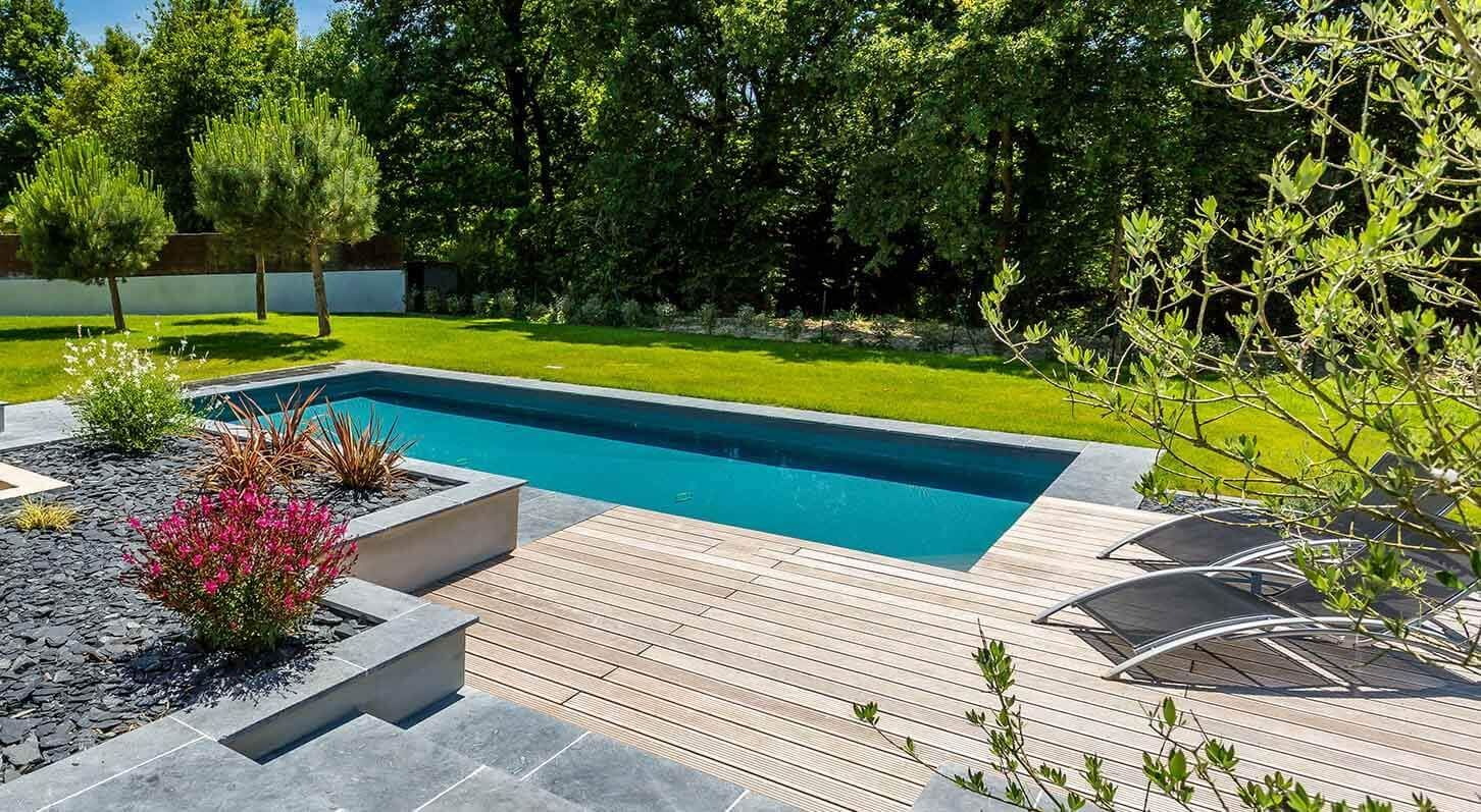 Aménagement Piscine Contemporaine Jardin Pinterest Pergolas - Photo d amenagement piscine