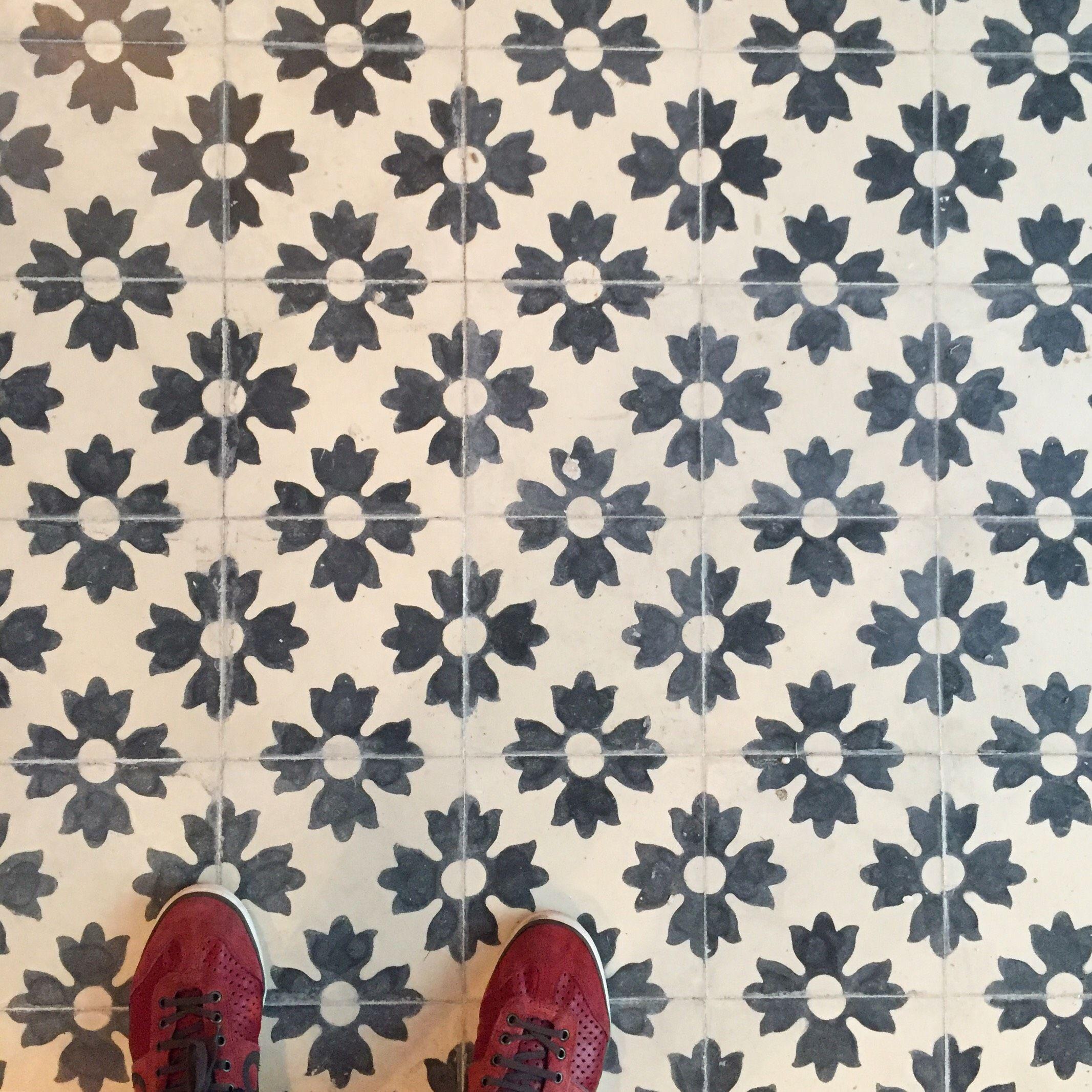 Bespoke aged Mosaic in @sohohousebarcelona by Huguet Mallorca ...