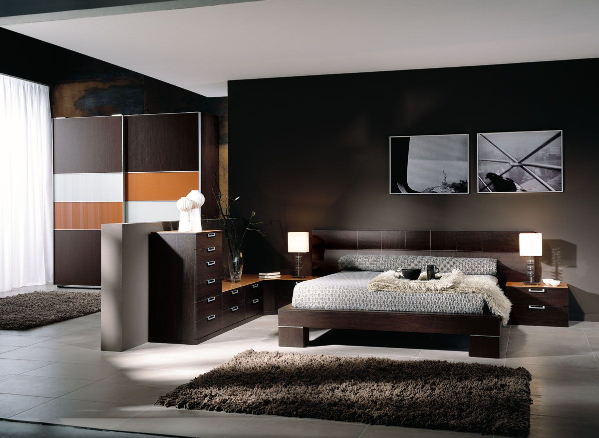 Dormitorio matrimonial moderno awesome interiors - Muebles dormitorio moderno ...