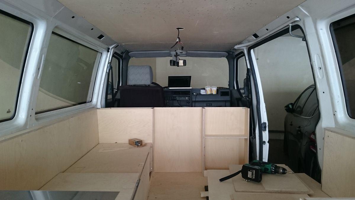 Célèbre Comment aménager un van. Un guide avec toutes les étapes pour  NO29