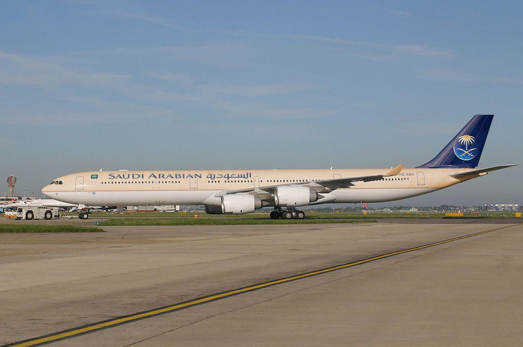 من طائرات الخطوط السعودية Aircraft Aviation Airbus