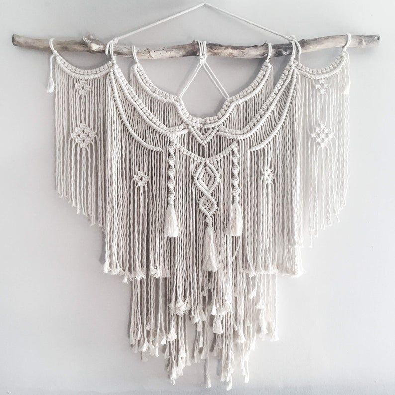 The Dope Rope Large 44 Macrame Wall Hanging // tapestry   Etsy