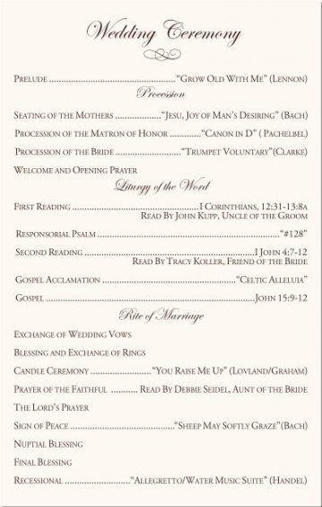 Lieder Katholische Trauung