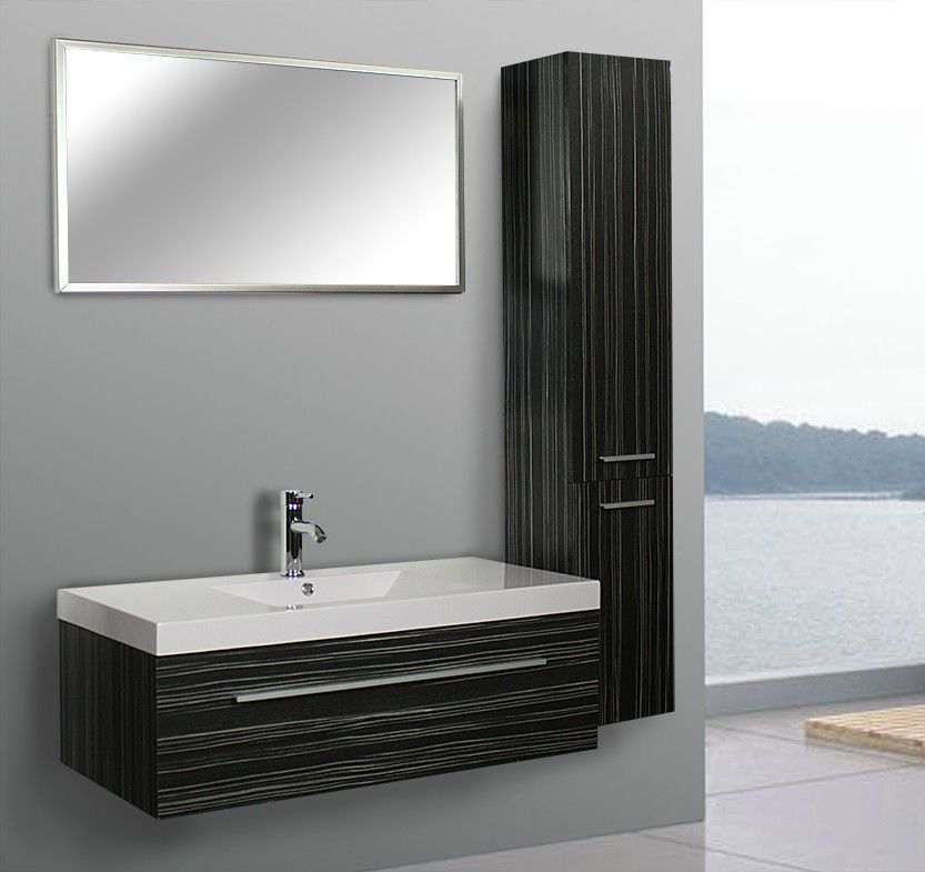 badezimmerm bel bad set badm bel waschtisch badset neu badm belset schwarz weiss unbedingt. Black Bedroom Furniture Sets. Home Design Ideas