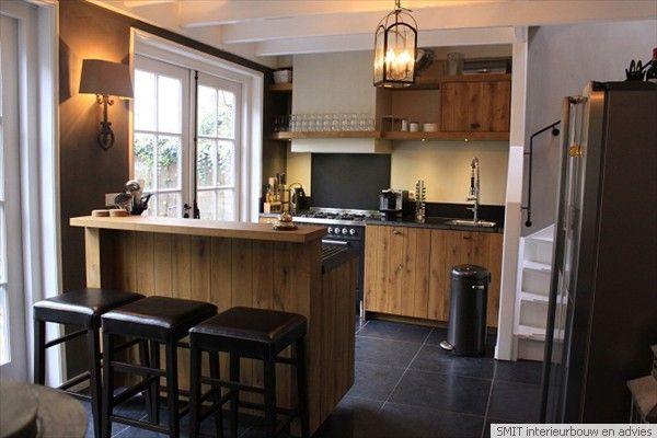 Bar In Keuken : Verhoogde bar keuken google zoeken keuken kitchen kitchen