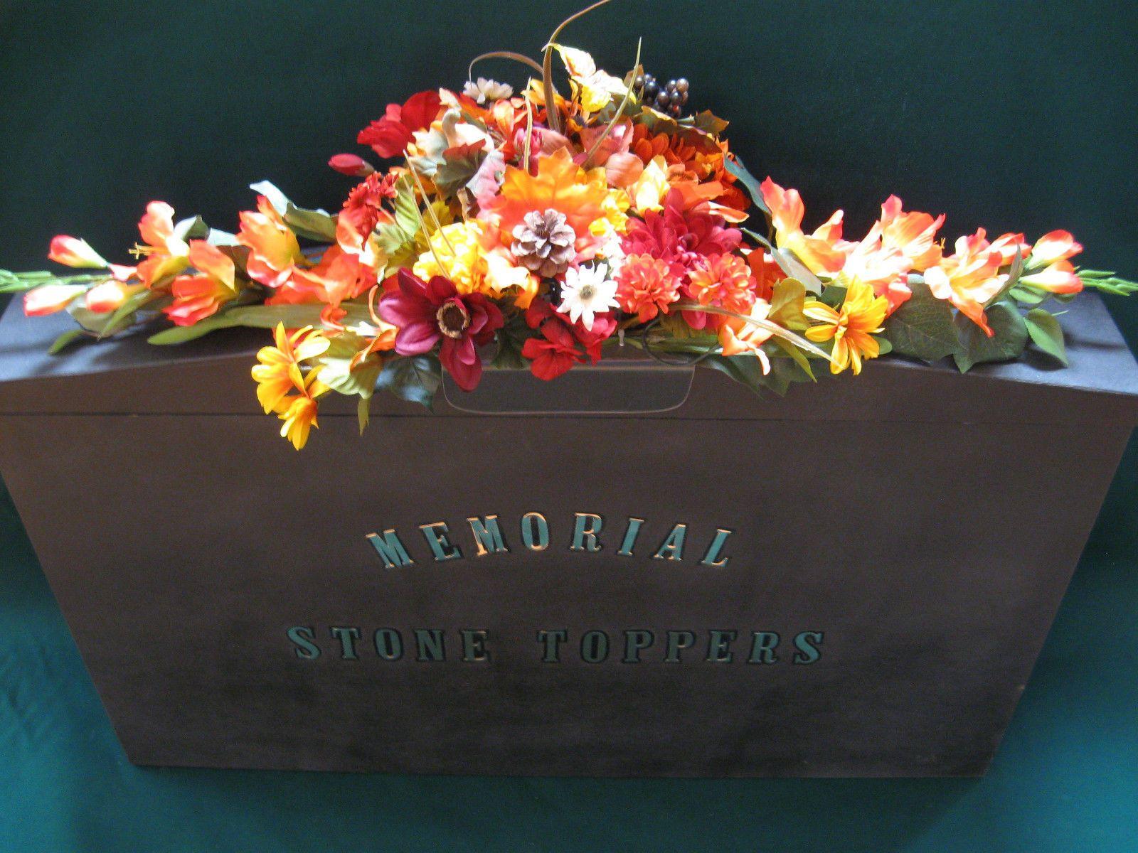 Memorial cemetery headstone autumn blend flower arrangement memorial cemetery headstone autumn blend flower arrangement plastic saddle reviewsmspy