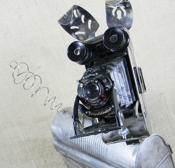 GROUCHO  The Occasionally Irascible Robot Dog  by reclaim2fame, $295.00