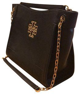 4094d138ad4d Tory Burch New Summer New Britten Small Britten New Beach Summer Britten  Tote in black
