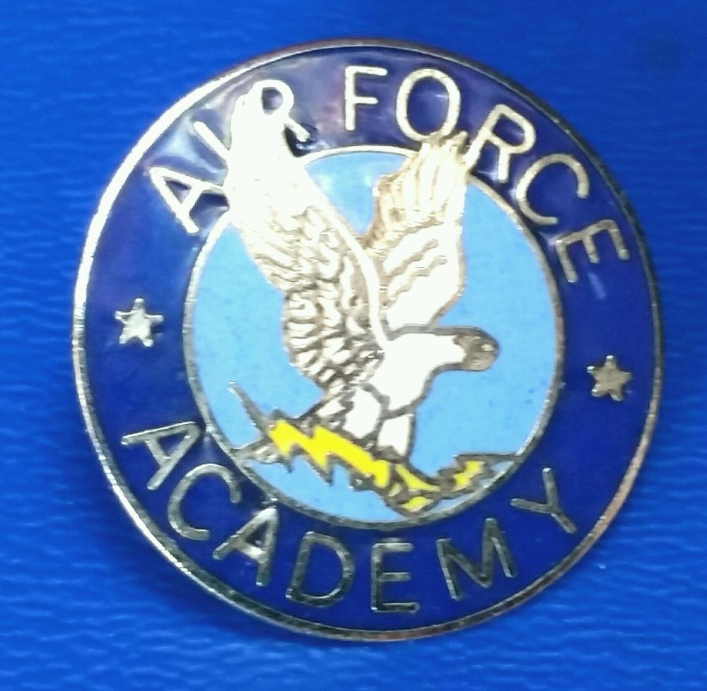 AIR FORCE ACADEMY Pin Hatpin HatPin Lapel Military