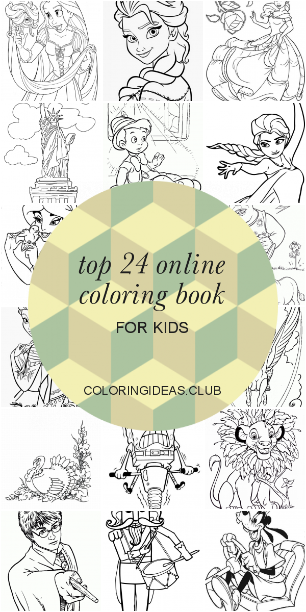 Top 24 Online Coloring Book For Kids Summer Coloring Pages, Coloring  Pages For Kids, Elsa Coloring Pages