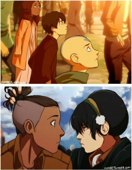 Toph And Sokka Tokka Avatar Avatar The Last Airbender Avatar Aang The Last Airbender