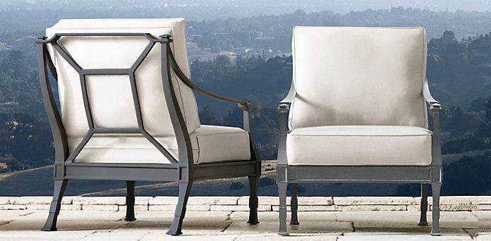 Antibes Restoration Hardware Luxe Lounge Concrete