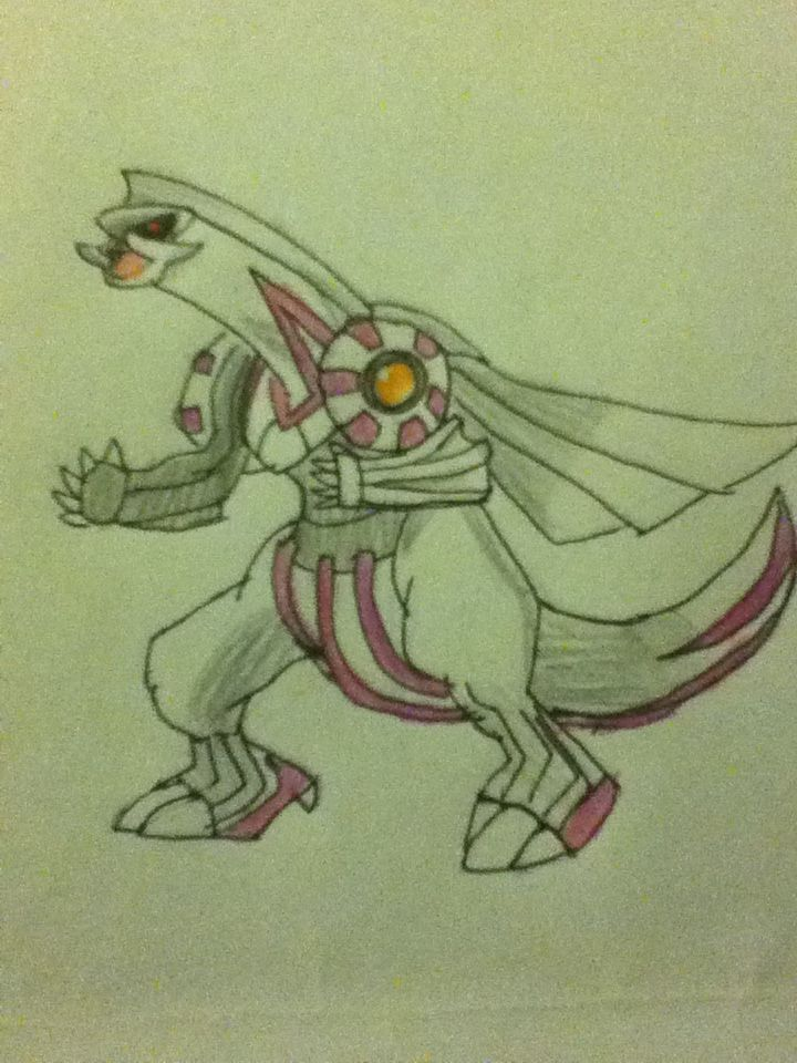 Palkia (Sorry Mira! It's the only Pokemon I'm posting I'll post the rest on pg world)