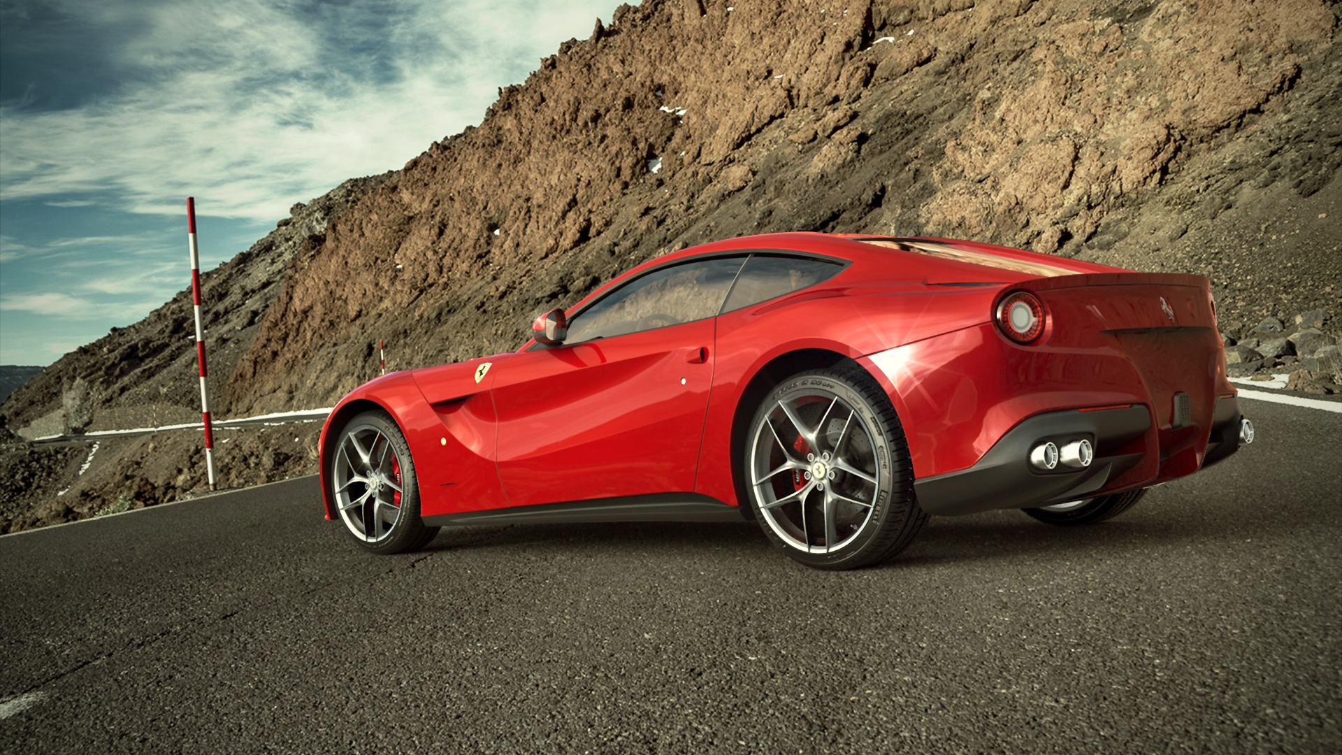 Ferrari F12 Berlinetta rendered in KeyShot by Sergio