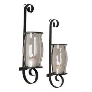 Flat iron wall sconces set $24.50 & eligible for FREE Super Saver Shipping