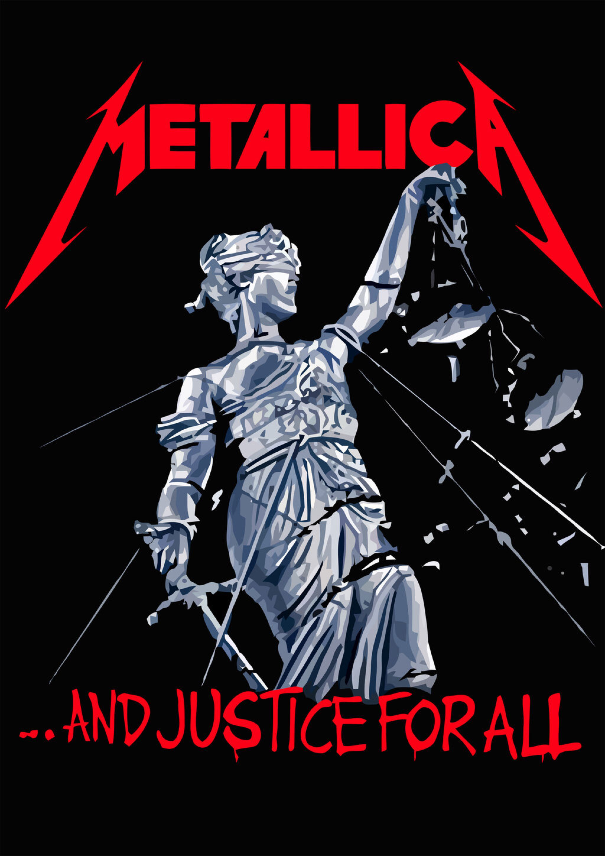 MetallicA And Justice for All by croatiancrusader on