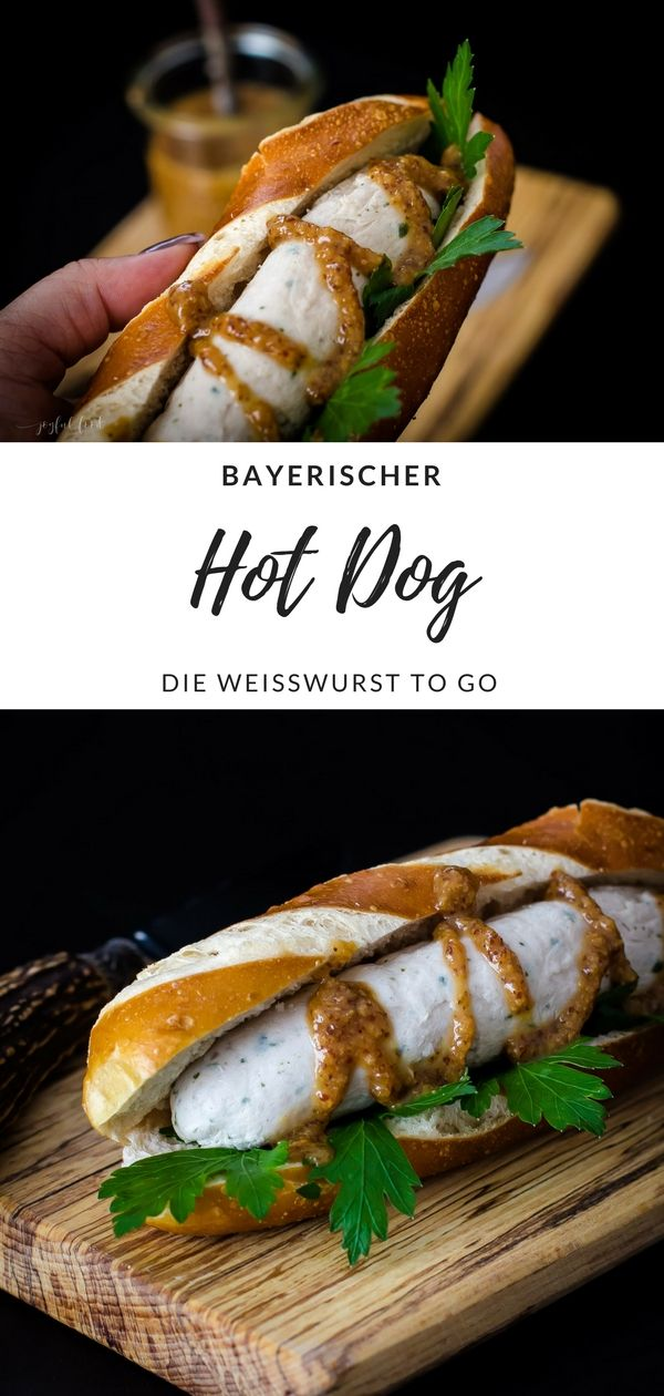 Photo of Bayerischer Hot Dog – Weißwurst to go