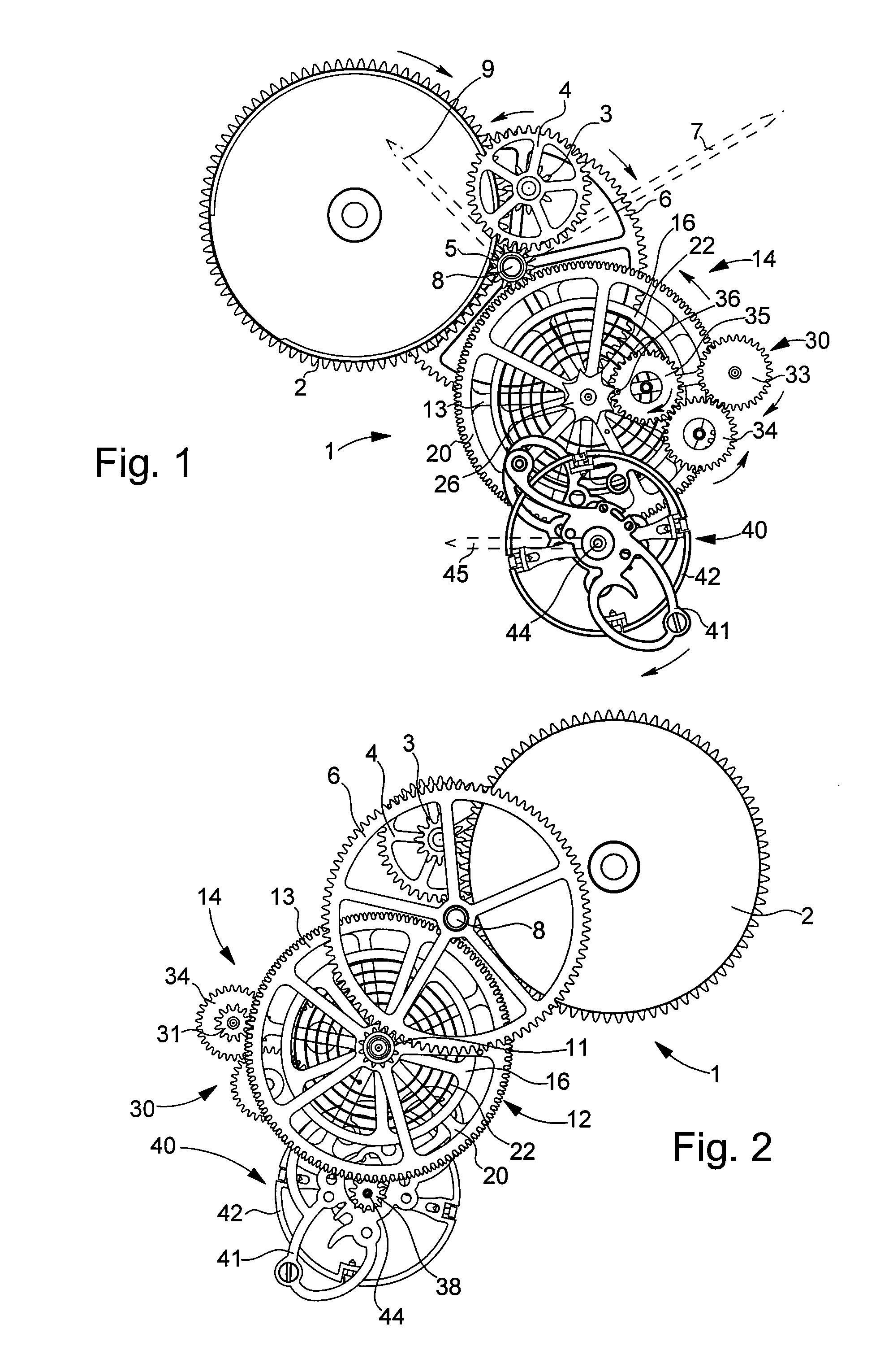 Pocket Watch Interior Gears