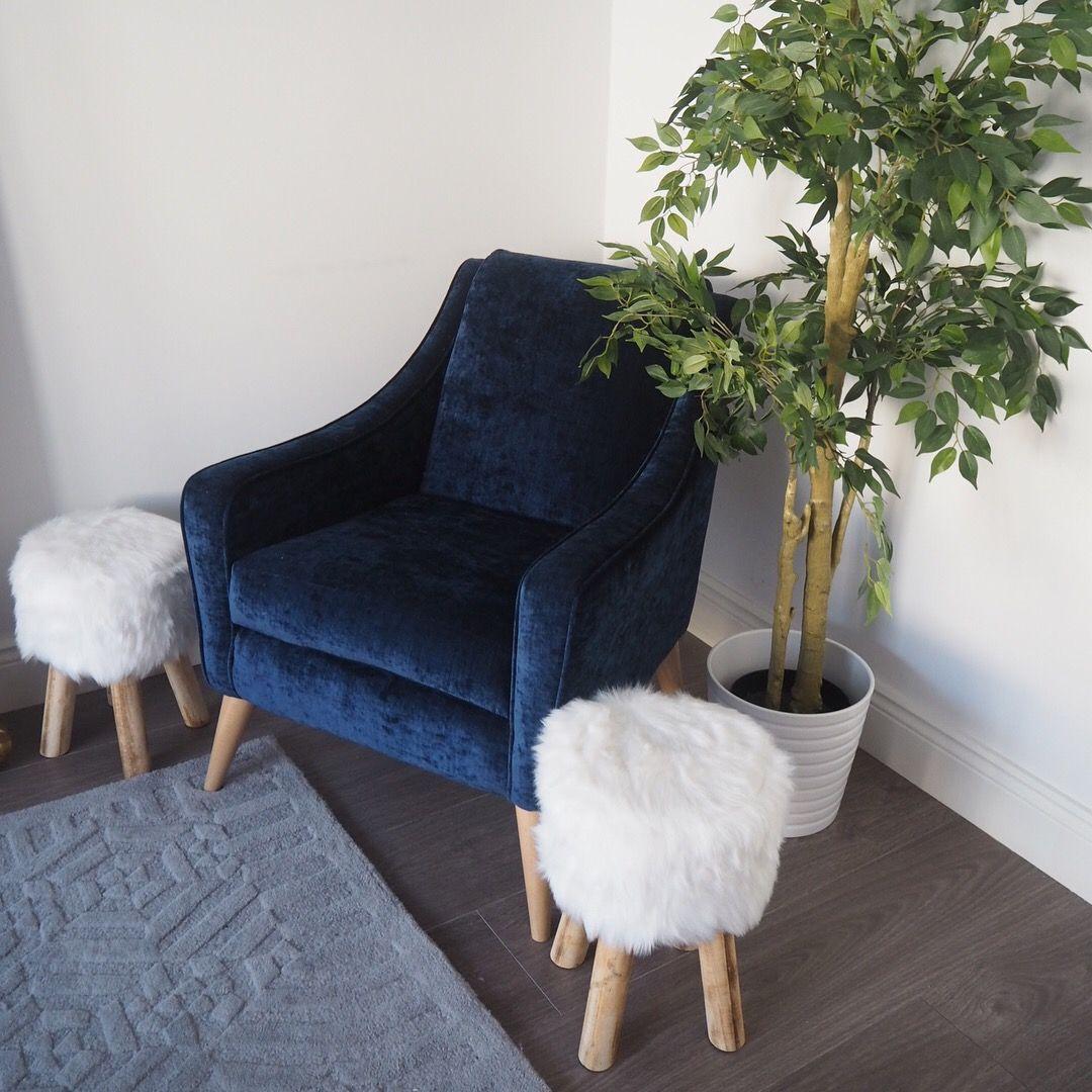 Blue velvet chair blue velvet chairs chair home decor