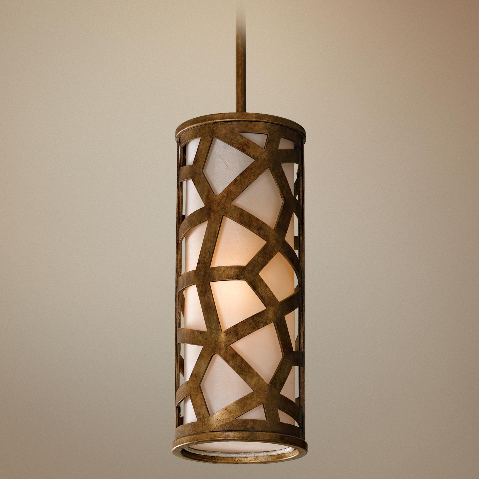 Murray feiss medina collection mini pendant light lampsplus