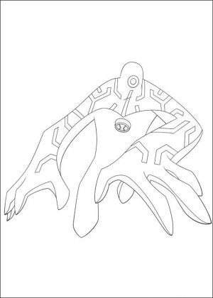 Ben 10 Coloring Page 3