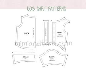 Sewing Pattern For Dog Clothes