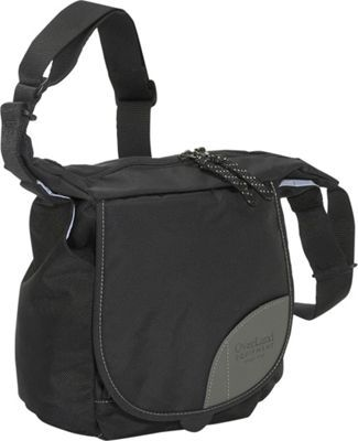 Overland Equipment Donner Shoulder Bag Black Dusty Blue Via Ebags