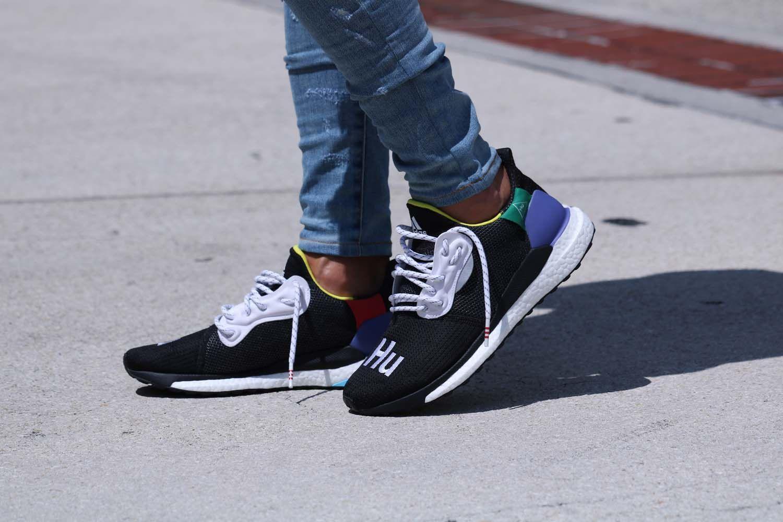 Pharrell Williams x adidas Solar Hu Glide Black Where To