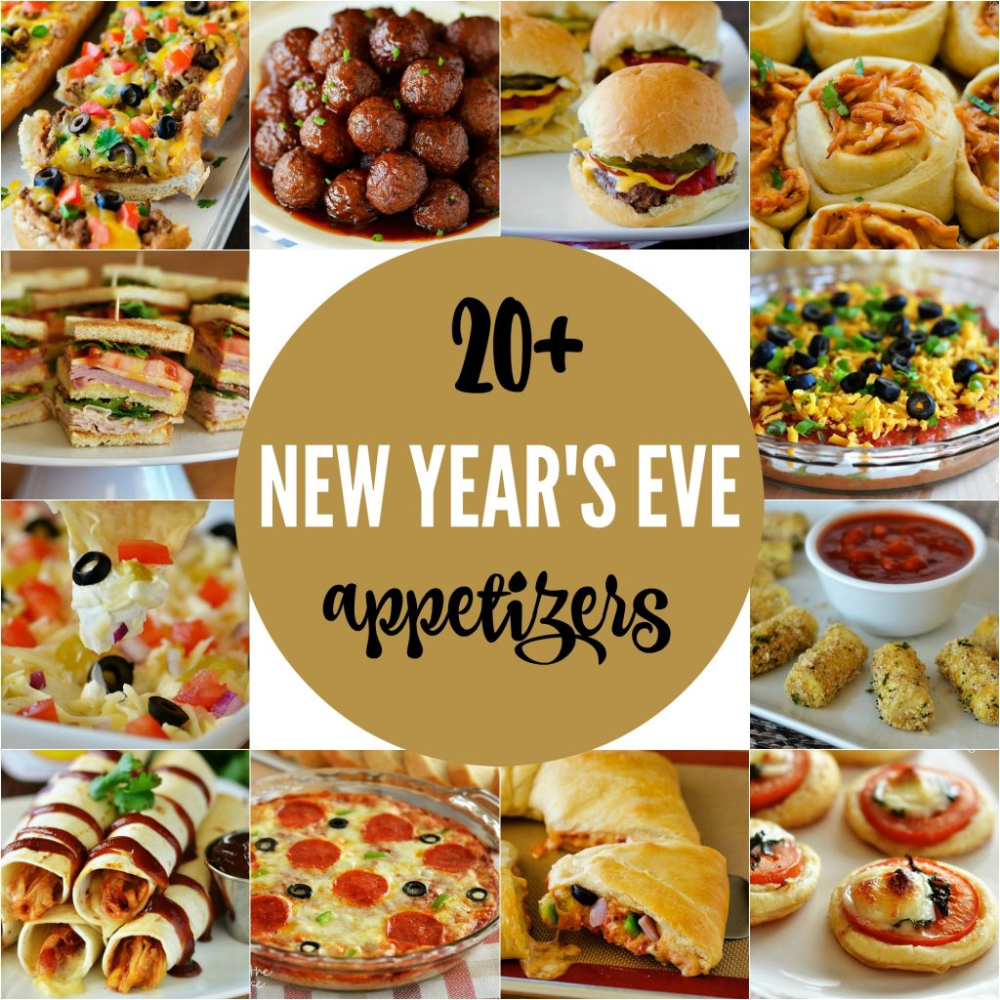 20+ New Year's Eve Appetizers - Life In The Lofthouse
