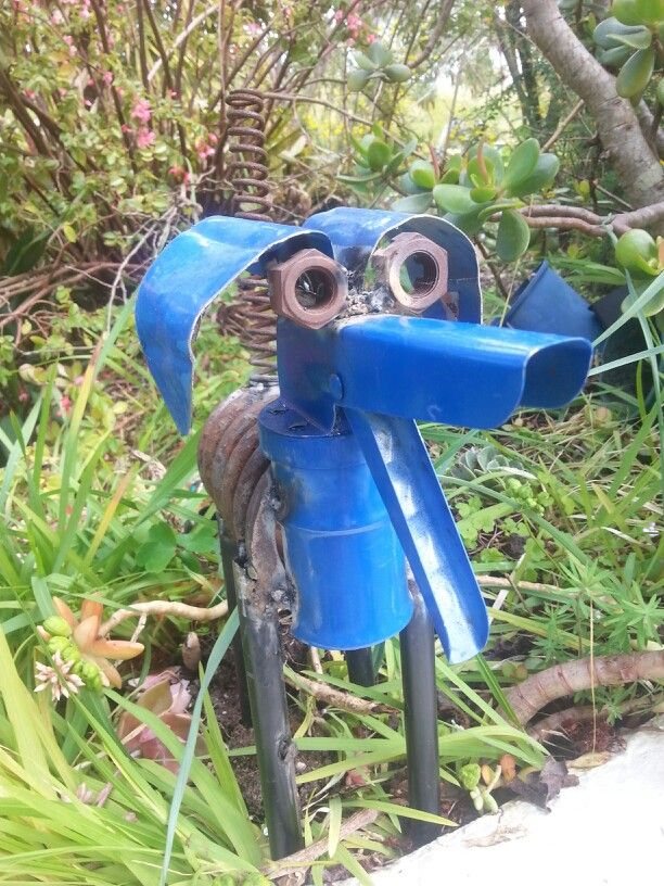 A springer made in New Zealand Rusty Relics Metal Art ...