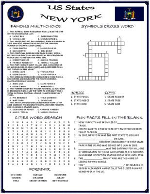 worksheets new york - Yahoo Image Search Results   Happy Birthday ...