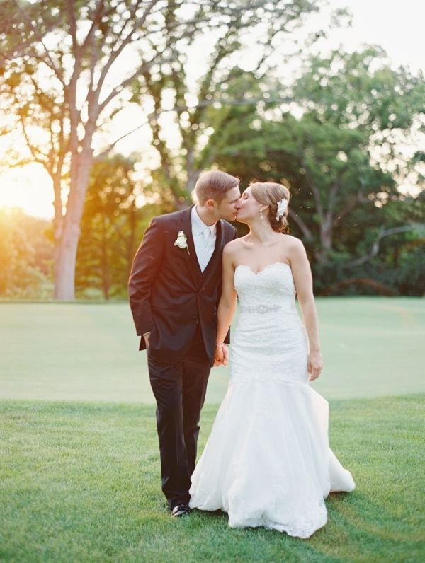 Classic Elegant Country Club Wedding Real Weddings From Real