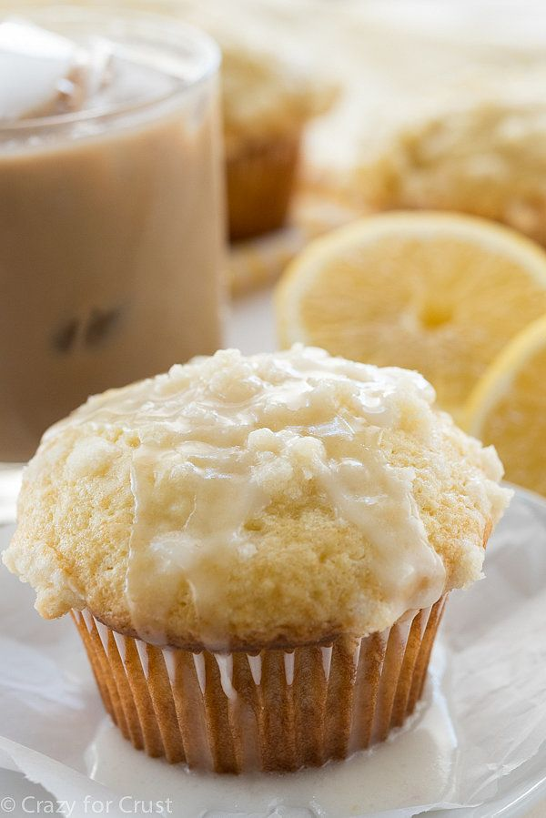 Quick and easy is the name of the game on our busy weekday mornings. Grab and go: Lemon Crumb Muffins