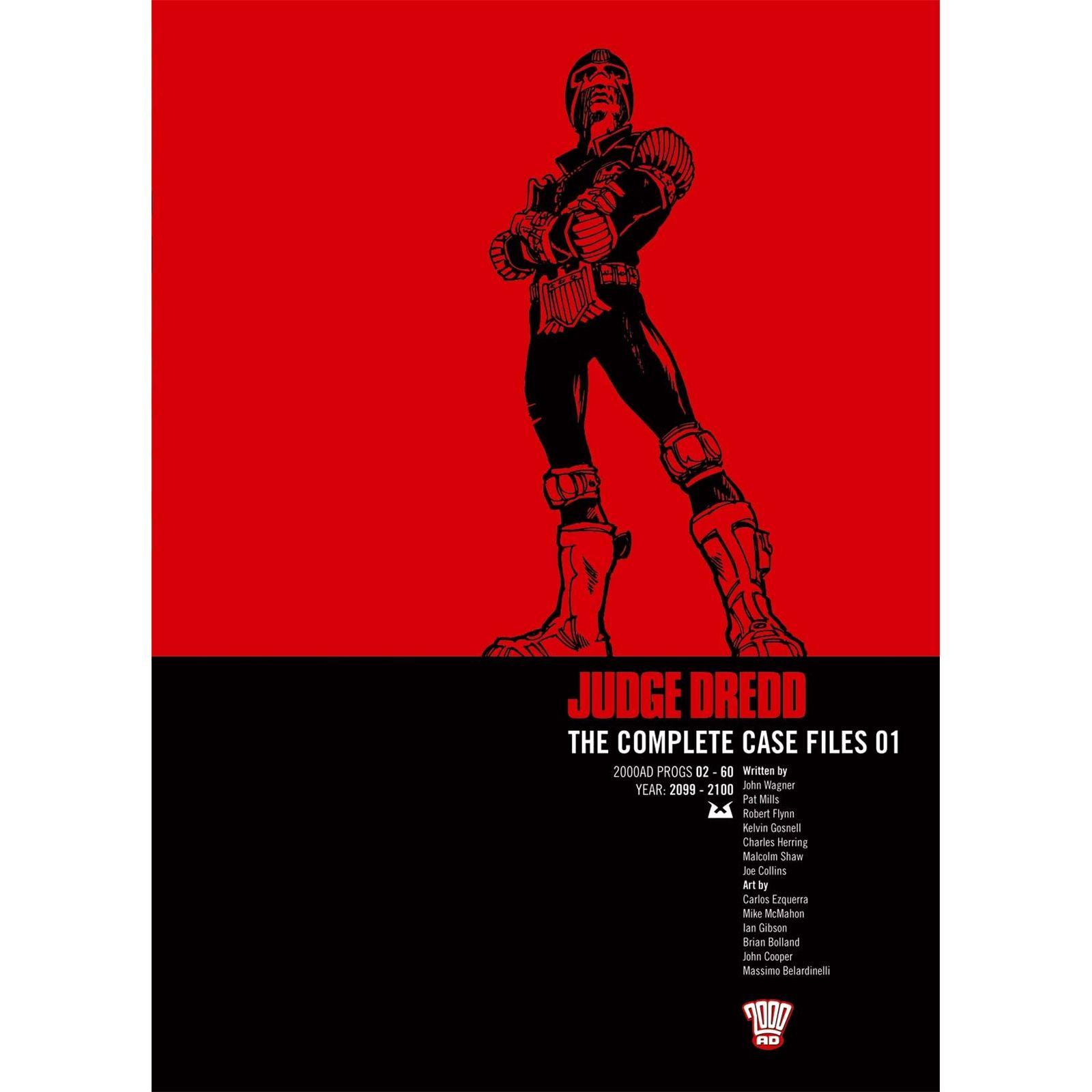 #ProgressiveBusinessPublications 2000AD - Judge Dredd - Complete Case Files - Volume 1