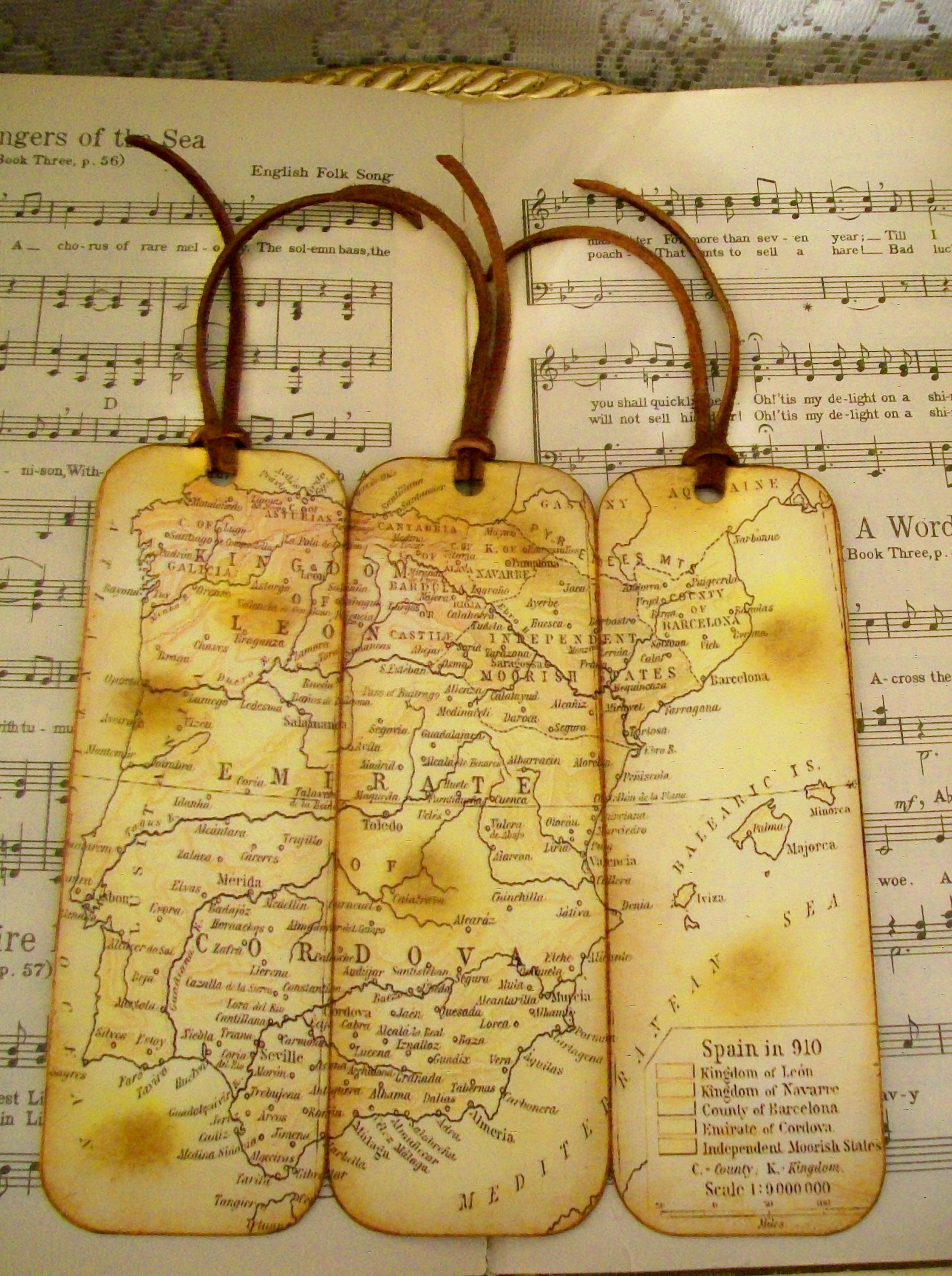 Spain bookmarks circa 910 gifts for men set of 3 old world map spain bookmarks circa 910 gifts for men set of 3 old world map bookmarks for men gumiabroncs Choice Image