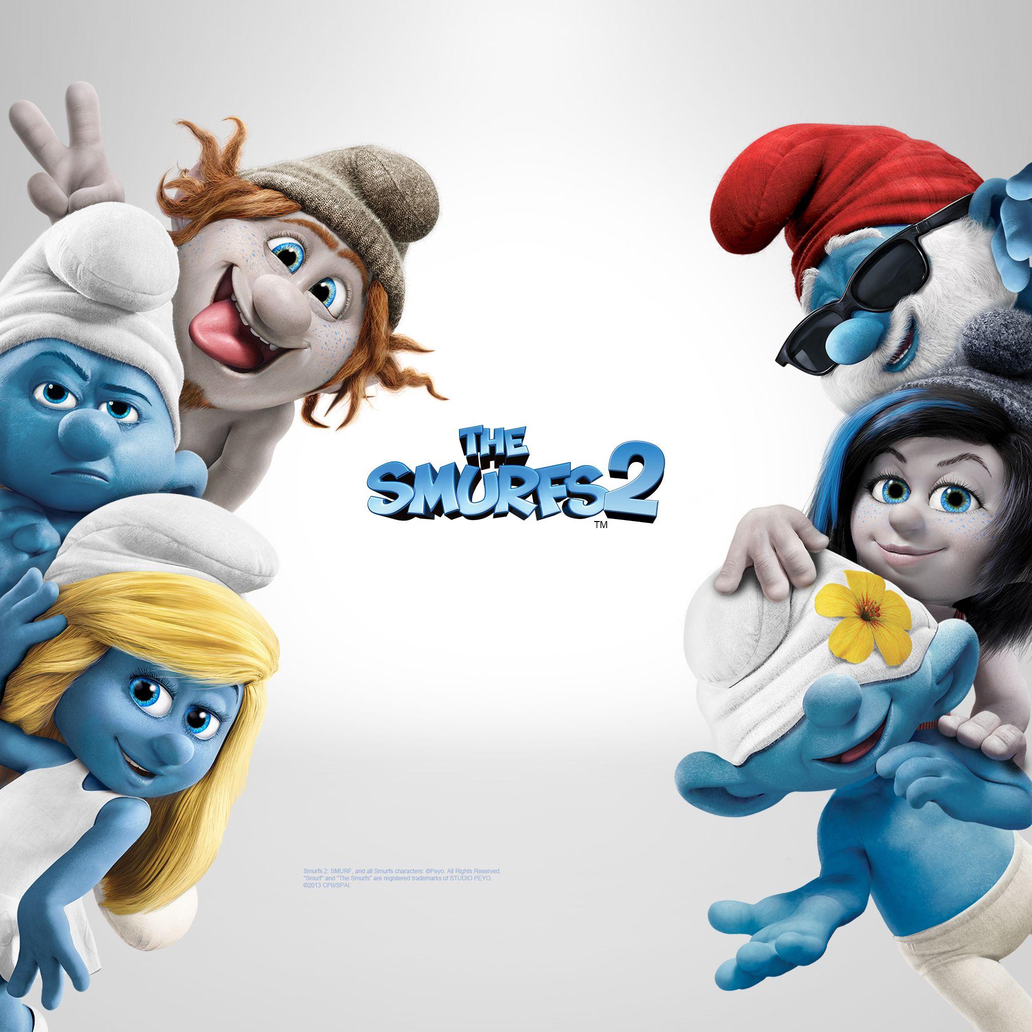 The Smurfs 2 (2013) Wallpapers, Facebook Cover Photos
