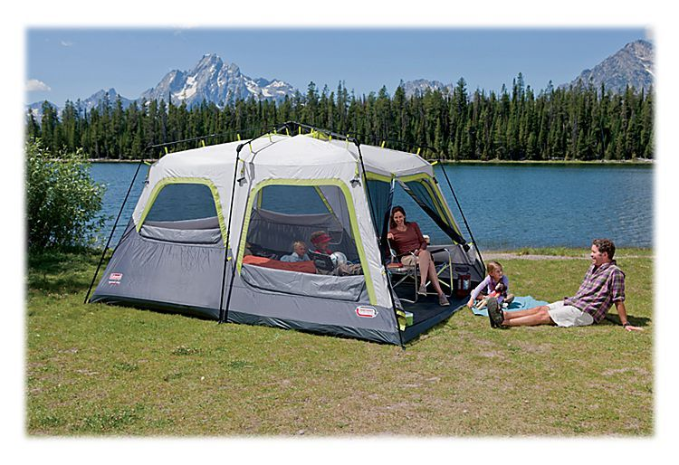 Coleman® Signature Outdoor Gear™ Instant Tent 10 Ten-Person Tent with Rainfly | & Coleman® Signature Outdoor Gear™ Instant Tent 10 Ten-Person Tent ...