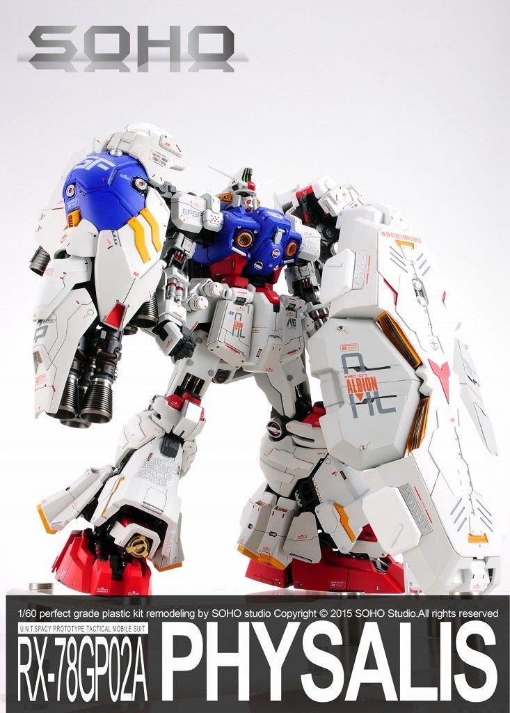GUNDAM GUY: G-System 1/60 GP02 Gundam Physalis - Painted Build