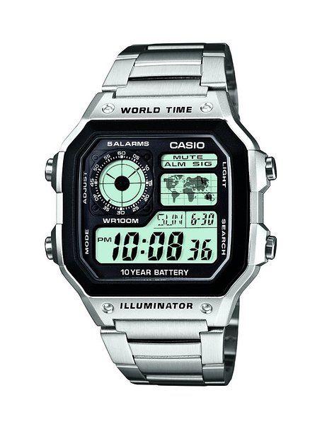 Casio AE 1200WHD 1AVEF Reloj (Pulsera, Masculino, Resina