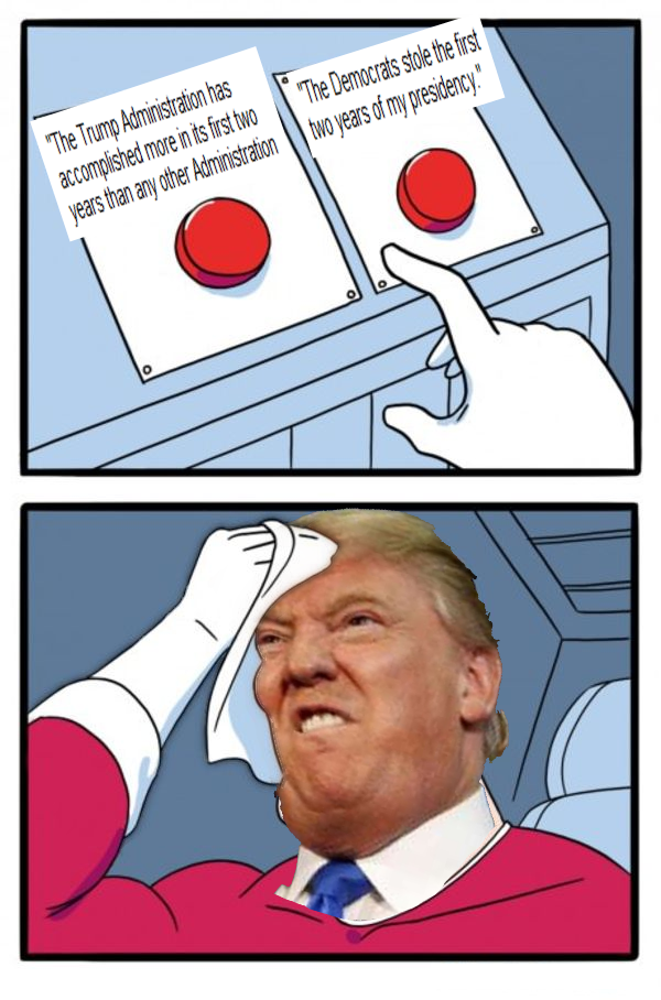 Two Buttons Meme Generator