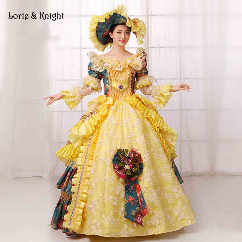 Queen Marie Antoinette Inspired #Rococo Dress #Princess Stage ...
