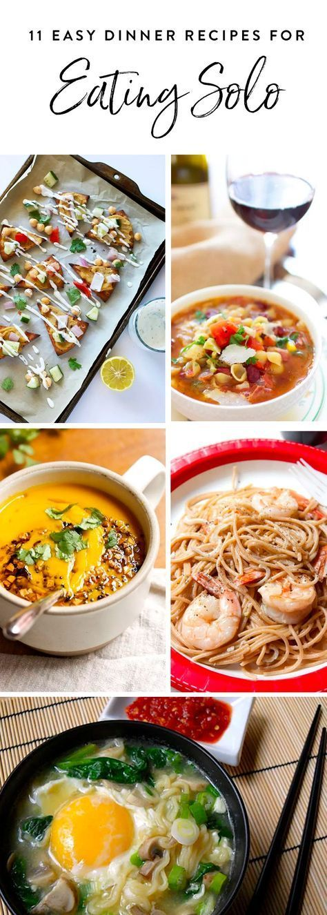 11 Easy Single-Serve Dinner Recipes for When You're Eating Solo images